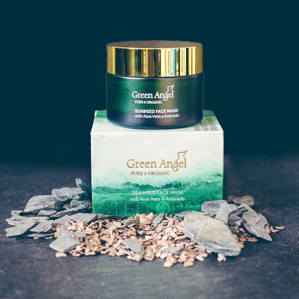 Green Angel Gesichtsmaske